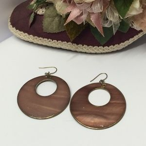 Unique Vintage Hoop Earrings